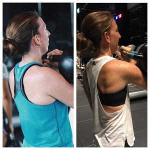 Carly Lost 5.5% Body Fat & Gained 1.6kg Muscle