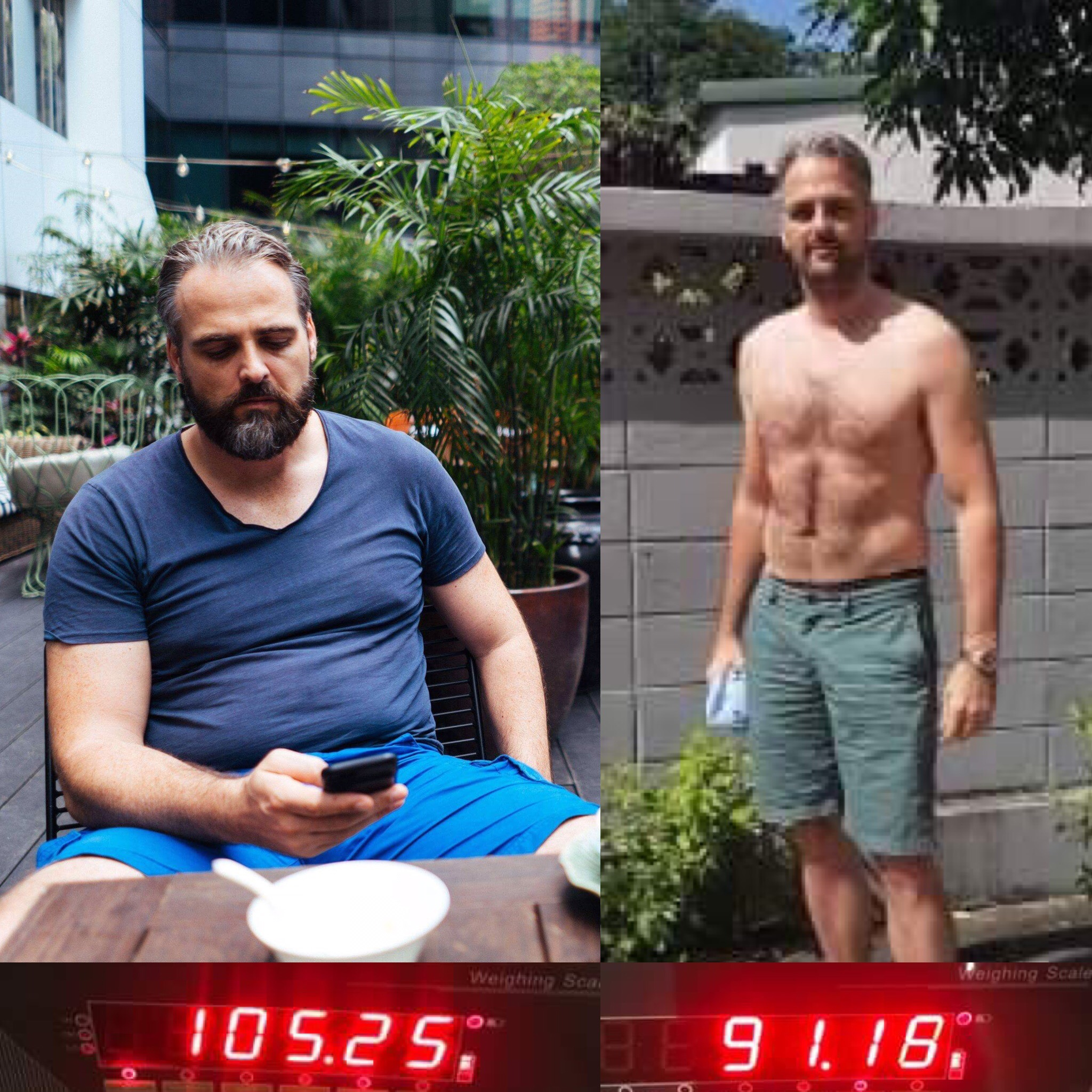 How Erik Committed Big & Lost 14.1kg