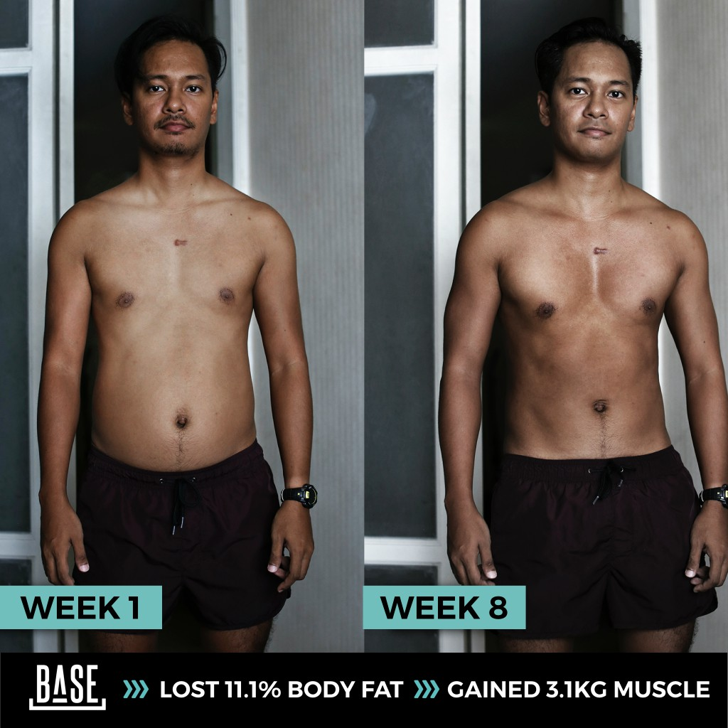 Lost 11.1% Body Fat and Gain 3 Kg Muscle in 3 Months