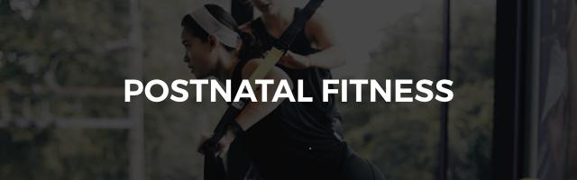 postnatal fitness class
