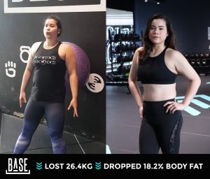 How Pear lost 26.4kg with Coach Tommy
