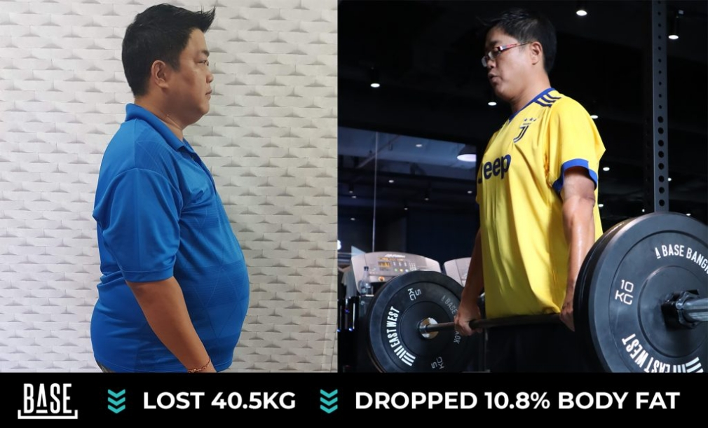 How Tommy helped Han lose 40.5kg and transform his health