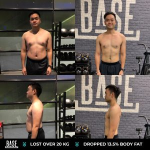 How Chakrit lost over 20kg and drop his body fat% from 30% to 16.5%