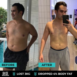 How Caspar lost 3kg and dropped 4% body fat in 60-day BASELINE Challenge